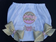 ***WELCOME TO FAIRY FASHIONS***    *~We add FLAIR to princess wear!    ~*If DETAIL is important to you, shop FAIRY FASHIONS*~    ~~~*SHIPMENT TIME IS RUNNING AT ABOUT 3 WEEKS*~~~  *IF YOU NEED ITEM SOONER THAN 3 WEEKS, PLEASE CONTACT ME*    *~FAIRY FASHIONS PRESENTS...CUSTOM BLOOMERS!    *~Own a pair of these custom made BLOOMERS, to accessorize for your special day or complete your party TUTU SET. *~This listing is for one pair of, HOT AIR BALLOON, BLOOMERS!    *~I would be happy to create…