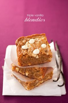 Blondies/Brownies Cooking Classy - with a sprinkle of fancy