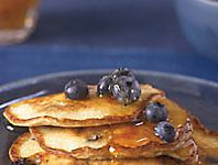 Ricotta Pancakes with Blueberries Recipe