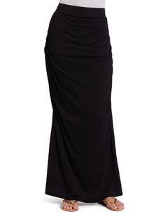 Bobi Women`s Shirring Maxi Skirt $35.10