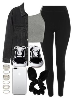 """""""#14655"""" by vany-alvarado ❤ liked on Polyvore featuring Topshop and Forever 21 #casualoutfits"""