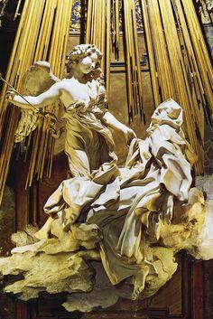 GIAN LORENZO BERNINI. Éxtasis de Santa Teresa. 1652.