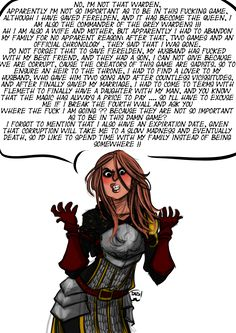 True story, bro. Love my Hero, though she's not as angst-y as this one...looks pretty similar, and she does have a daughter in my personal canon...