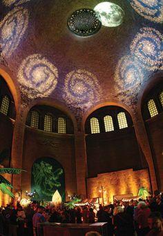 heres the matching lighting effect in the chinese rotunda httpwww