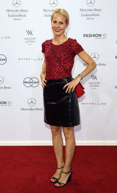 Pin for Later: Die Stars machen Berlin zum Mode-Mekka bei der Fashion Week Nadja zu Schaumburg-Lippe bei der Schau von Marc Cain