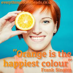 Orange is the happiest colour #redheads #ginge