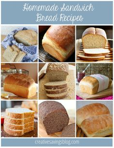 Learning to make your own bread is a frugal habit every homemaker should try! Pick one of these basic, no-fail bread recipes to get started. The Everyday Sandwich Bread is a tried-and-true favorite!