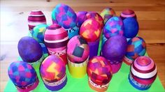 Anikó Dóbiász: Easter table eggholder - Recycle paper tubes