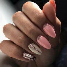 Give style to your nails using nail art designs. Worn by fashionable celebrities, these nail designs will add immediate style to your apparel. Beautiful Nail Art, Gorgeous Nails, Pretty Nail Designs, Nail Art Designs, Nails Design, Prom Nails, Fun Nails, Glitter Nails, Manicure E Pedicure