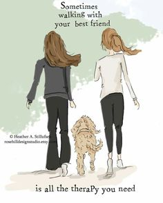 Walking with your best friend