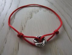Infinity Ring Adjustable Cord Bracelet Friendship by MahsanAmoui