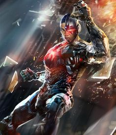 Cyborg from Injustice 2 Mobile Cyborg 7 Cyborg Dc Comics, Marvel Dc Comics, Dc Comics Heroes, Marvel Wolverine, Marvel Vs, Marvel Heroes, Injustice 2 Characters, Dc Comics Characters, Injustice Game