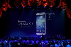 Samsung Galaxy S4 Unveiled at Huge New York Event #technology