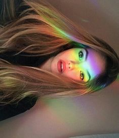 Image shared by dani. Find images and videos about hair, grunge and blonde on We Heart It - the app to get lost in what you love. Photography Poses Women, Shadow Photography, Tumblr Photography, Girl Photography Poses, Creative Photography, Tumblr Selfies, Rainbow Aesthetic, Selfie Poses, Foto Art