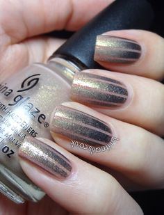 Striped Gradient http://www.britnails.co.uk/2013/02/striped-gradient.html