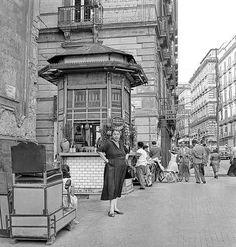 Piazza Dante, Naples 1950s