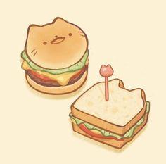 200+ ảnh mặt cười: Đẹp - Độc - Dễ thương hết nấc - BlogAnChoi Food Doodles, Kawaii Doodles, Kawaii Art, Cute Food Drawings, Kawaii Drawings, Cute Food Art, Cute Art, Sandwich Drawing, Pancake Drawing