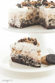 Snickers Peanut Butter Brownie Ice Cream Cake Receta