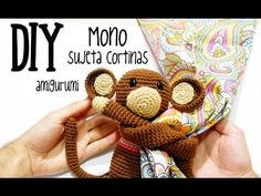 DIY Mono sujeta cortinas amigurumi crochet/ganchillo (tutorial)