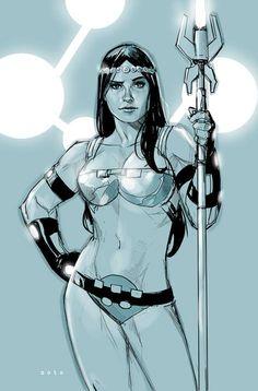 Big Barda--art by Phil Noto Comic Book Artists, Comic Artist, Comic Books Art, Arte Dc Comics, Dc Comics Art, Female Furies, Miss Hulk, Phil Noto, Dc Comics Girls