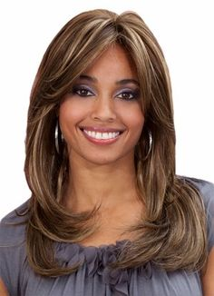 BOBBI BOSS Premium Fiber Lace Front Wig  MLF27 Mocha F42730 -- For more information, visit image link.(This is an Amazon affiliate link and I receive a commission for the sales)