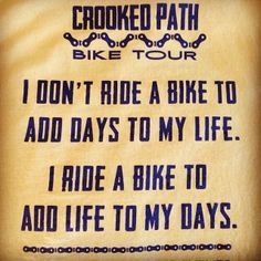 Great bike quote