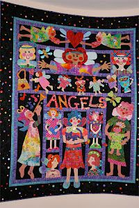 My Angel BOM -WELL done by Lois Podolny-pattern available Marylouweidman.com