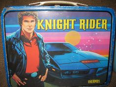 John Kenneth Muir's Reflections on Cult Movies and Classic TV: Lunchbox of the Week: Knight Rider