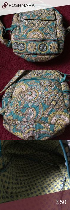 Vera Bradley book bag  Large size . Can for laptop and college books . Vera Bradley Bags Backpacks