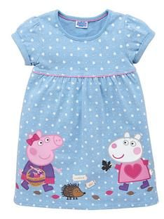 Shop Very for women's, men's and kids fashion plus furniture, homewares and electricals. Peppa Pig Outfit, Peppa Pig Dress, Peppa Pig Clothes, Pig Girl, My Baby Girl, Toddler Outfits, Kids Outfits, Cute Outfits, Kind Mode