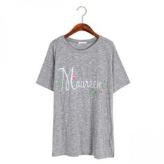 Today's Hot Pick :MAUREEN Embroidered T-Shirt http://fashionstylep.com/P0000XDU/ju021026/out While eating a tub of ice cream in front of the telly, this comfy tee will keep you at ease. The crewneck, short-sleeves, regular fit, and front embroidery give comfort for a chill Friday night. Wear this shirt with simple shorts and sneakers.