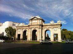 Puerta de Alcalá, Plaza de la Independencia, Madrid