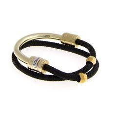 Half-Rope Brass Cuff - Cuffs