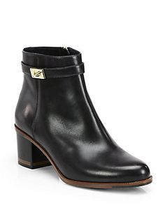 Fendi Goldmine Leather Ankle Boots, if I just want to spend money like I just don't care...