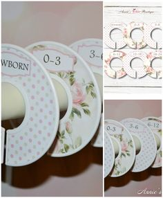 $15.50 USD for 6 closet dividers.  Check out our cute baby closet dividers, the best way to keep your baby clothes organized.