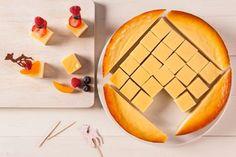 Käse-Kuchen Spieße ein Hingucker auf jeder Party