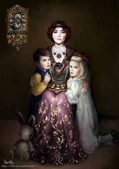 """nikivaszi: """"Orianna and her orphans I loved that twist from CD Project Red that…"""