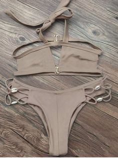 GET $50 NOW | Join RoseGal: Get YOUR $50 NOW!http://m.rosegal.com/bikinis/strappy-halter-neck-cut-out-937197.html?seid=8220884rg937197