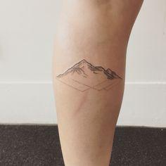 mountain tattoo - Cerca amb Google
