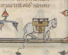 Bibliothèque nationale de France, Français 25526 (Roman de la Rose, France 14th century). fol. 111v. Discarding images.