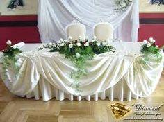 Znalezione obrazy dla zapytania dekoracja stołu weselnego z czerwonymi kwiatami