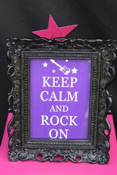 Girly Rock Star Dance Pink Birthday Party Planning Ideas Decorations new Karaoke Party, Music Party, Music Theme Birthday, Rockstar Birthday, Pink Birthday, 10th Birthday Parties, Birthday Party Themes, Birthday Ideas, 8th Birthday