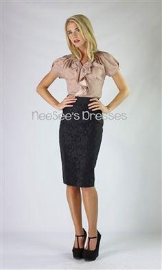 Lace Panel Skirt, mikarose, mikarose fall, mikarose fall 2013, pencil skirt, modest skirt, church skirt, lds, lds clothing, modest clothing,...