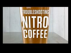 Nitro Coffee Troubleshooting & Tips for Creamy Cascading Pours Nitro Cold Brew, Nitro Coffee, Coffee Cans, Brewing, Beer, Tips, Youtube, Root Beer, Ale