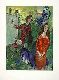 Marc Chagall - Maler und Modell                                                                                                                                                      Mehr
