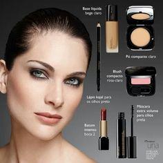 UNA , maquiagem suave e elegante