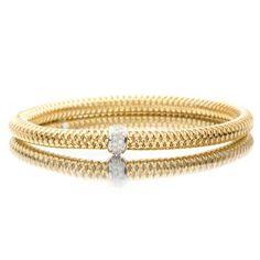 Beautiful @Robert Osborn Coin diamond bracelet from Lee Michaels. #Christmas