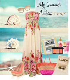 """""""My Summer Anthem"""" by hanss ❤ liked on Polyvore"""