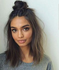 fast hair styles 20 bun hairstyles for lazy days major hair envy 1310