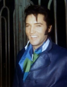 Elvis at his Hillcrest Home